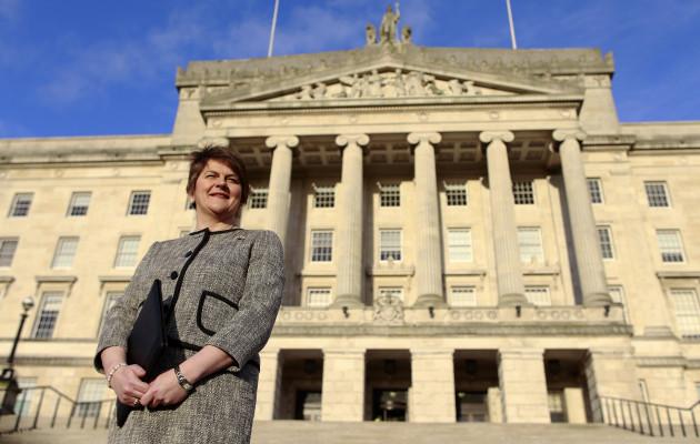 Britain Northern Ireland First Minister