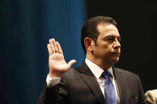 Guatemala New President