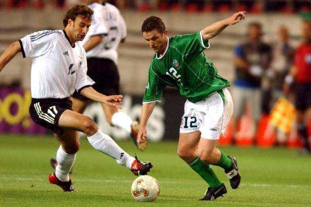 Soccer - FIFA World Cup 2002 - Group E - Germany v Ireland