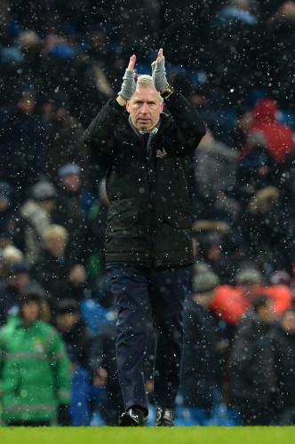 Manchester City v Crystal Palace - Barclays Premier League - Etihad Stadium