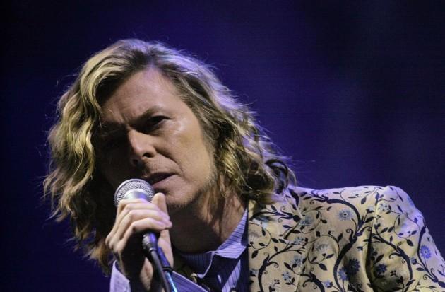 Bowie at Glastonbury