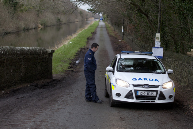 17/1/2015. Body in Canal Kildare. The dismembered
