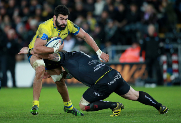 Ospreys v ASM Clermont Auvergne - European Champions Cup - Pool Two - Liberty Stadium