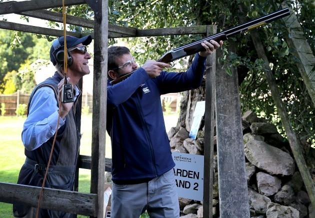 Jared Payne clay pigeon shooting