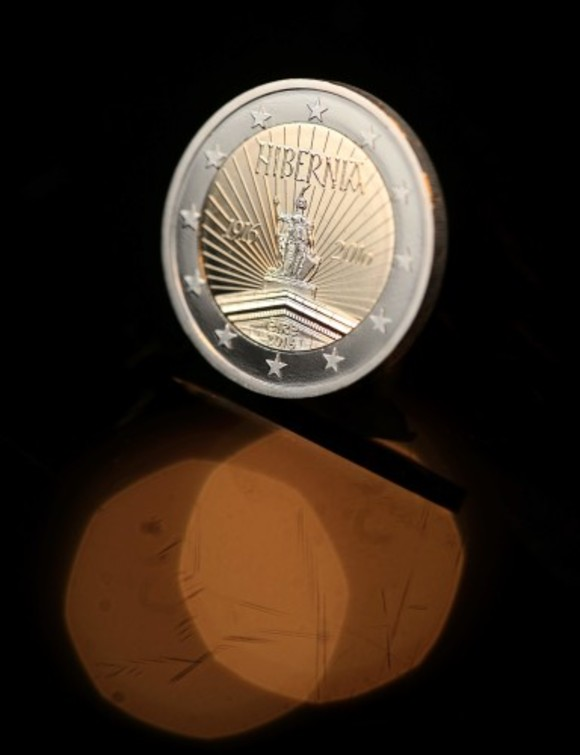 A swish new €2 coin comes into circulation today to
