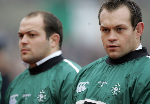 Rory Best and Simon Best 4/2/2006