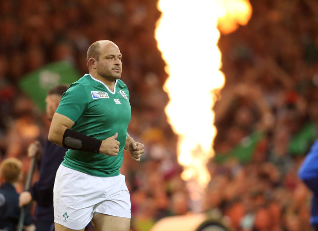 IrelandÕs Rory Best