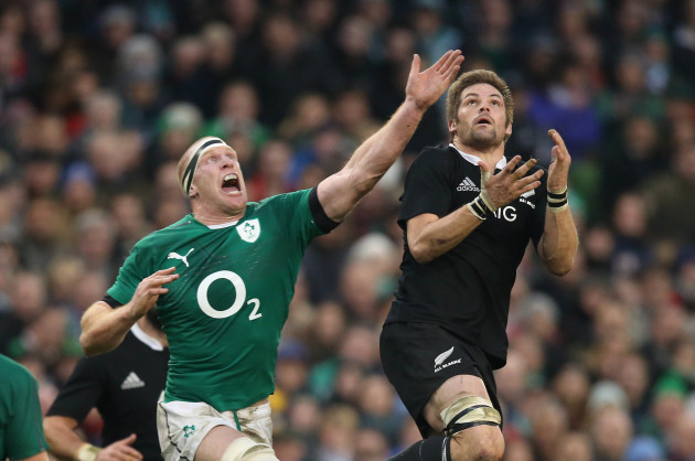 Paul O'Connell and Richie McCaw