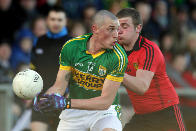 Arther McConville and Kieran Donaghy 4/3/2012