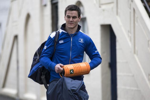 Jonathan Sexton arrives