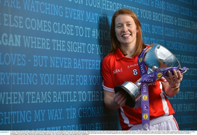 LGFA announce sponsorship with Lidl and National Football League 2016 Launch