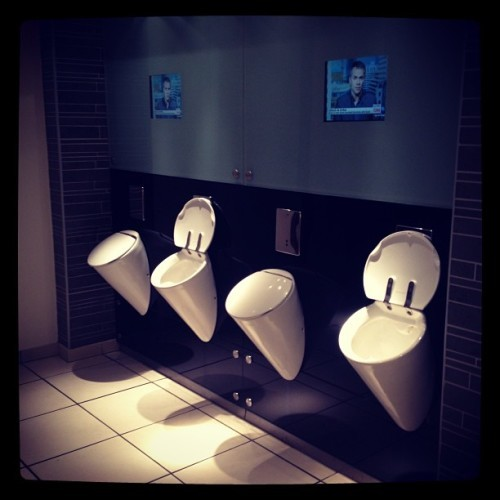 Toilets in Brown Thomas are no exception to the shop....#upperclass