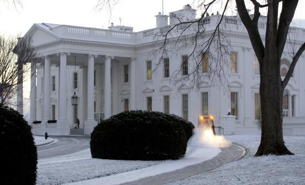 White House Snow