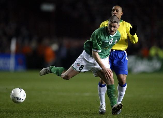 Graham Kavanagh and Roberto Carlos 18/2/2004