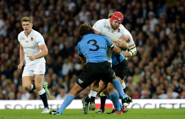 Rugby Union - Rugby World Cup 2015 - Pool A - England v Uruguay - City of Manchester Stadium
