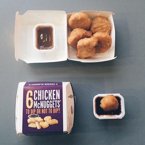 我宣布今日係麥樂雞日! Today is McNUGGETS day @McDonalds #mcdonalds #mcdonaldshk #mcnuggets #麥當勞 #麥樂雞
