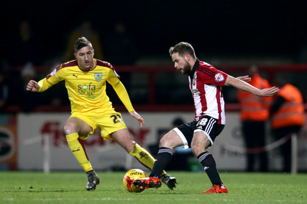 Brentford v Burnley - Sky Bet Championship - Griffin Park