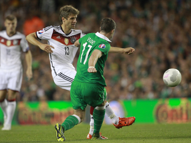 Ireland Germany Soccer Euro