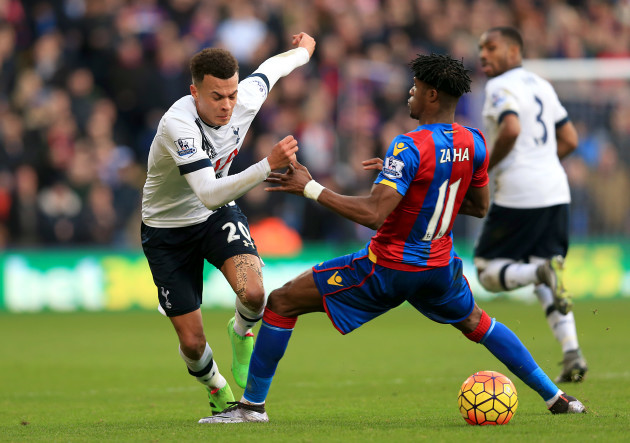 Crystal Palace v Tottenham Hotspur - Barclays Premier League - Selhurst Park