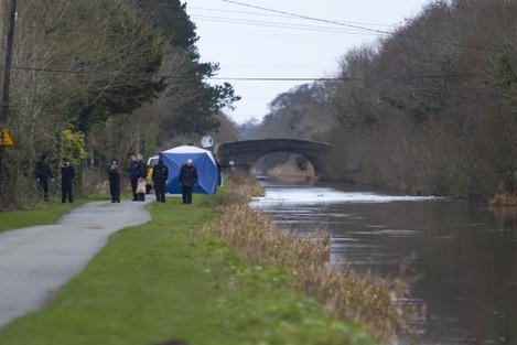 17/1/2016. Body in Canal Kildare