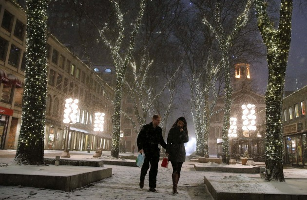 Big Snowstorm Massachusetts