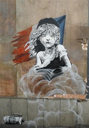 Britain Banksy Art