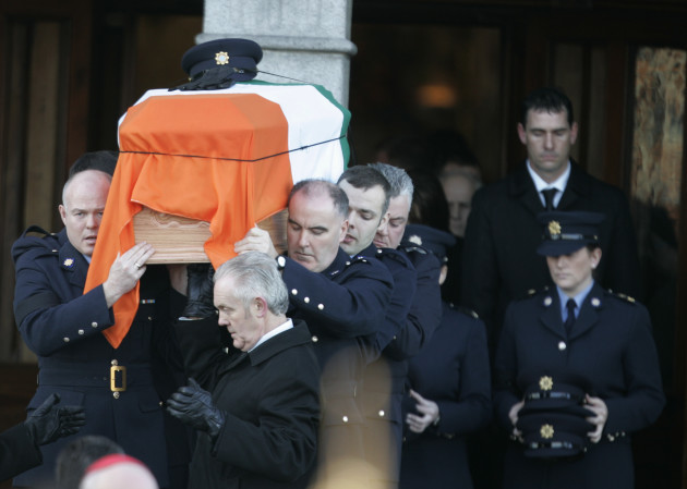 30/1/2013. State Funerals for Adrian Donohoe