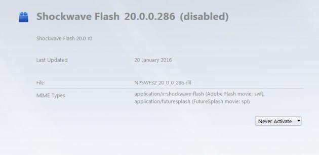 Shockwave flash firefox