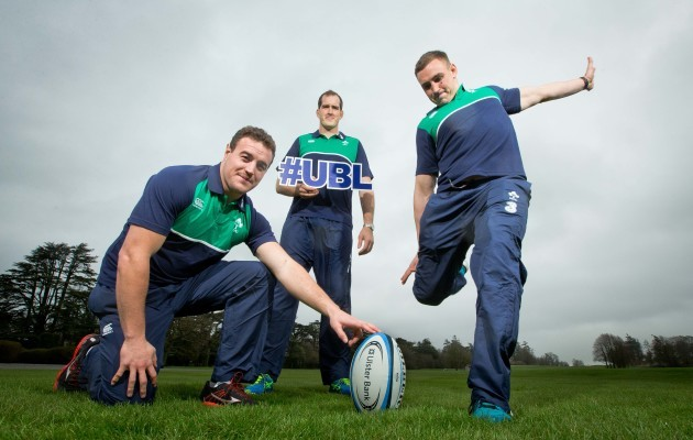Rob Herring, Devin Toner and Tommy O'Donnell