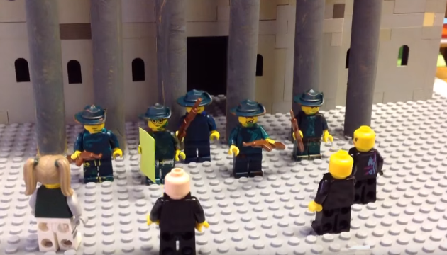 Schoolkids from Cork just made 'Lego 1916 The Movie' and