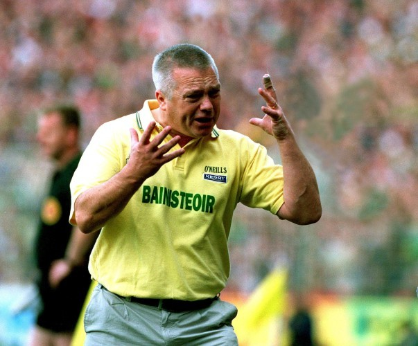 Kerry manager Paidi O'Se in 2000 15/12/2012