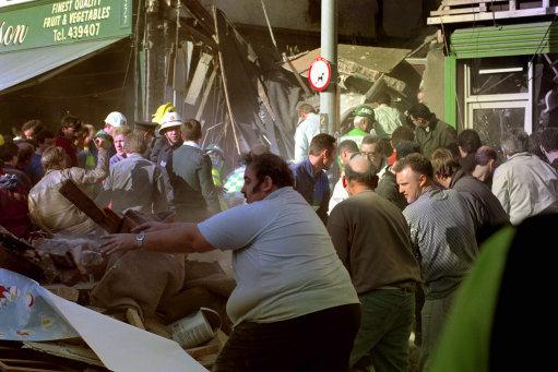Politics - The Troubles - Shankill Road Blast - Belfast