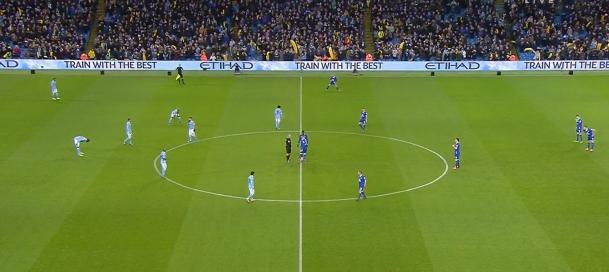 City Everton kick 0ff