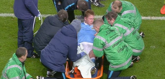De Bruyne injury
