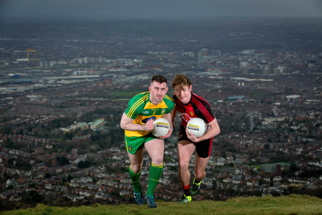 Patrick McBrearty and Caolan Mooney