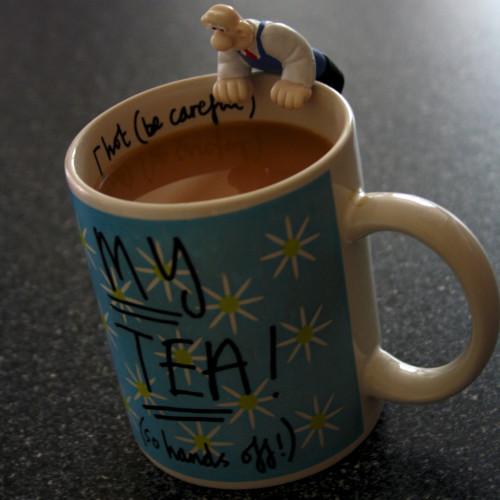 Hand's Of My Tea Wallace!