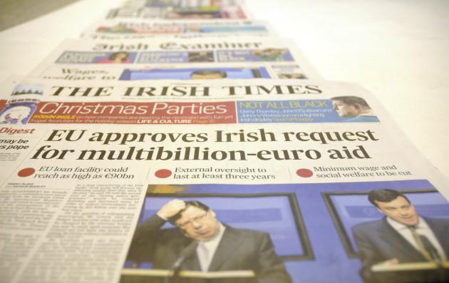 22/11/2010 IMF comes to Ireland