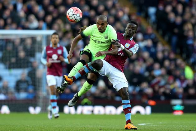 Aston Villa v Manchester City - Emirates FA Cup - Fourth Round - Villa Park