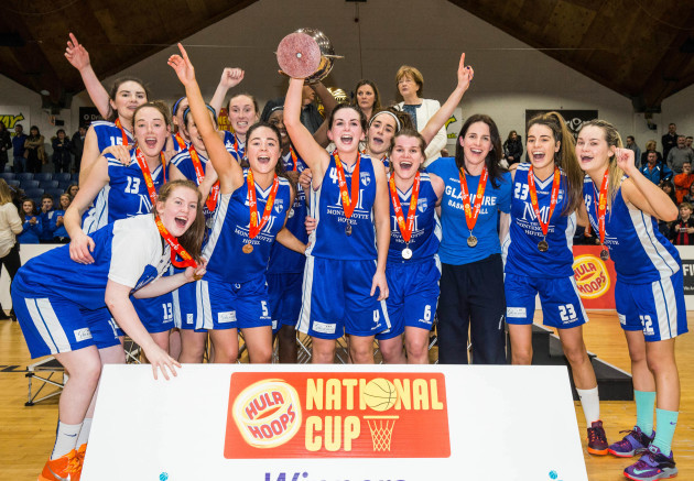 Team Montenotte Hotel Cork celebrate with the trophy