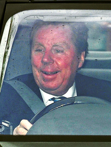 Soccer - Harry Redknapp arrives for a press conference - Chigwell Training Centre