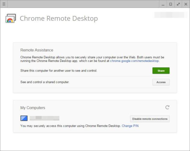 Chrome capture image