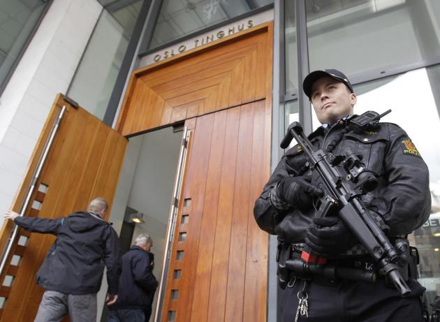 Norway Massacre Trial