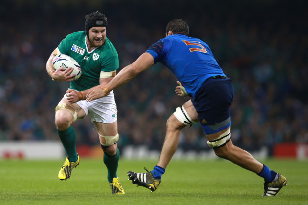 Rugby Union - Rugby World Cup 2015 - Pool D - France v Ireland - Millennium Stadium
