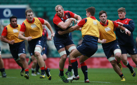 England Training Session - Twickenham