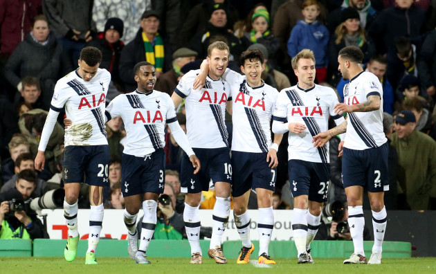 Norwich City v Tottenham Hotspur - Barclays Premier League - Carrow Road