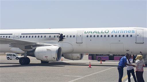 Somalia Emergency Landing