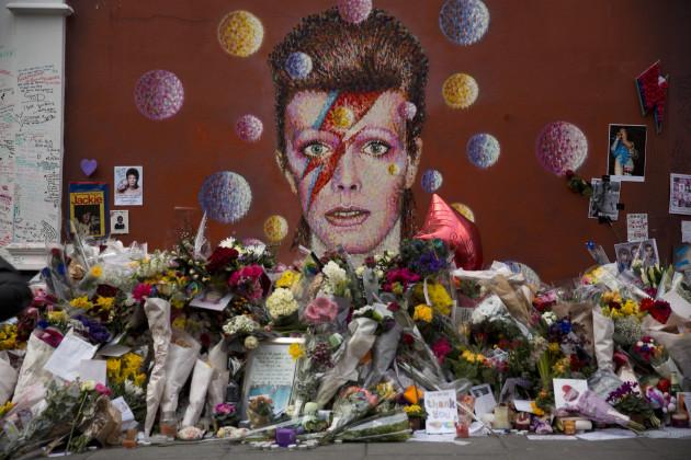 Britain Obit Bowie