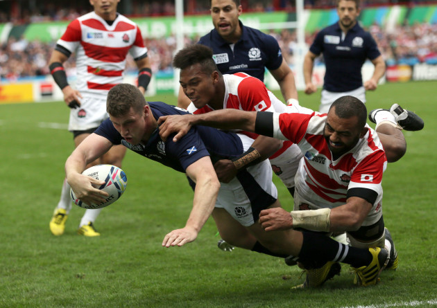 Britain Rugby WCup Scotland Japan
