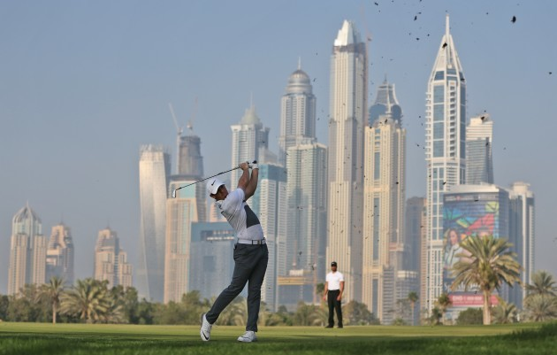 Mideast Emirates Golf