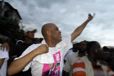Haiti Campaigning in Cholera
